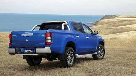 The Triton is the best value ute on the market.