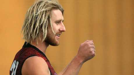 Few players score as consistently as Essendon captain Dyson Heppell. Picture: Mark Stewart