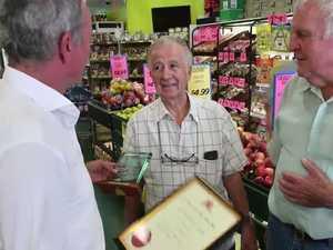 Farmer Lou gets community service award