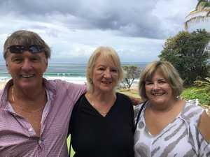 John O'Faolain, Trisha Coster and Cheryl Newsom at