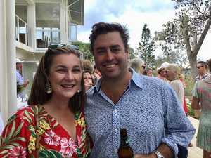 Emma and Carl Nancarrow at the 40th birthday of