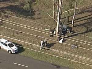 Two children killed in crash near Ipswich