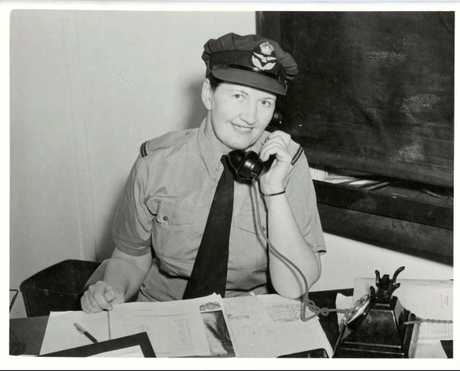 SPECIAL DELIVERY: W.A.A.A.F. recruiter Lilias B. Dow kept the letter, discovered when she died.