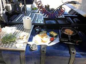 Truckie legend's best roadside cook up
