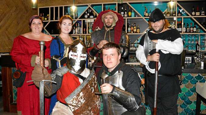 The Vinyard's feast turns back the clock to medieval times