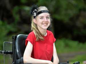 Young girl's dream coming true with Make A Wish ball