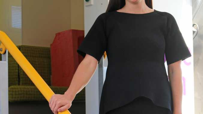 BreastScreen Queensland Toowoomba Service health promotion officer Alexandra Robbins-Hill.