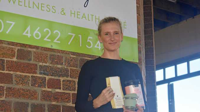 HEALTHY HABITS: Heidi Hays has co-owned Lime Tree Cottage for four years, specialising in organic health and beauty products.
