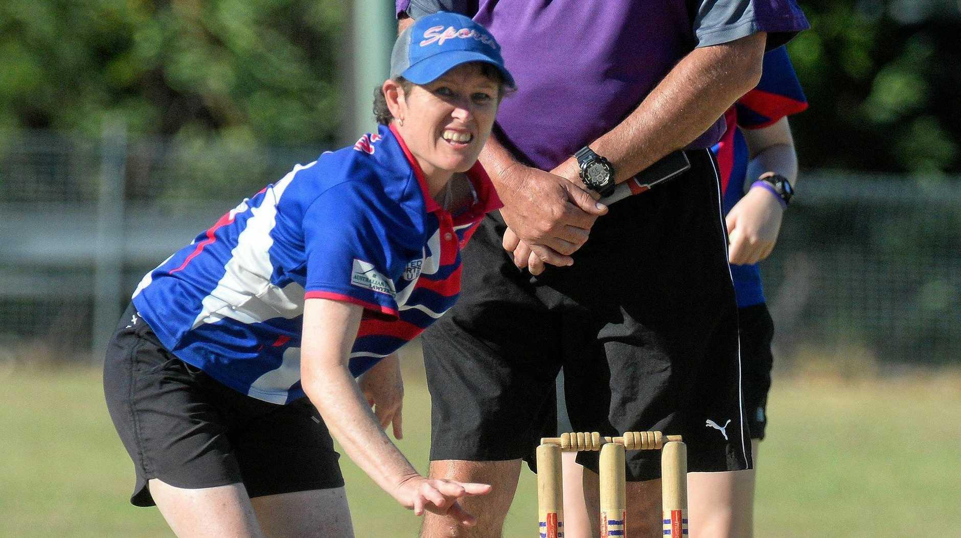 Sports bowler Lee Scudds.
