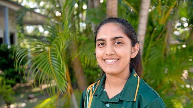 GOAL-ORIENTED: QMEA award finalist and Pioneer State High School student Mahima Vyas.