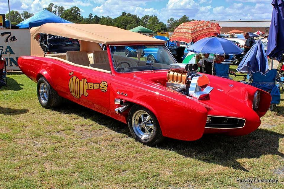 HEY, HEY: This Monkeemobile will be on show at the Wondai Street Sprints