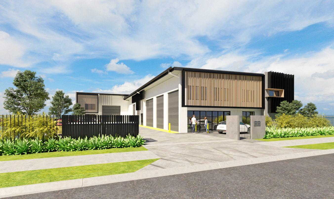 The first of what was expected to be a flood of new businesses has signed the lease to their new purpose-built facility in Aura Business Park at 1/22 Hancock Way.
