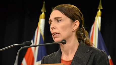 Prime Minister Jacinda Ardern addresses media in Wellington, New Zealand Friday, March 15, 2019. Multiple people have been killed after a gunman opened fire at two mosques in the New Zealand city of Christchurch. (AAP Image/Boris Jancic)
