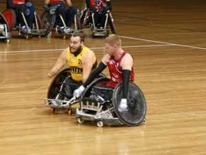 Journey to gold for Mackay wheelchair rugby star
