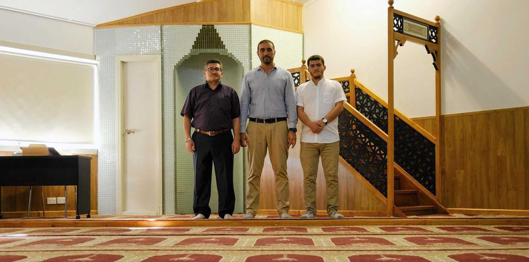 Imam Ali Yildirim, Yumit Dogan and Muhammed Yildirim.