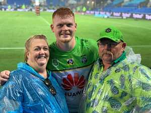'Over the moon': Parents watch Coast junior's NRL debut