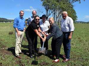 Lismore breaks ground on flood mitigation project