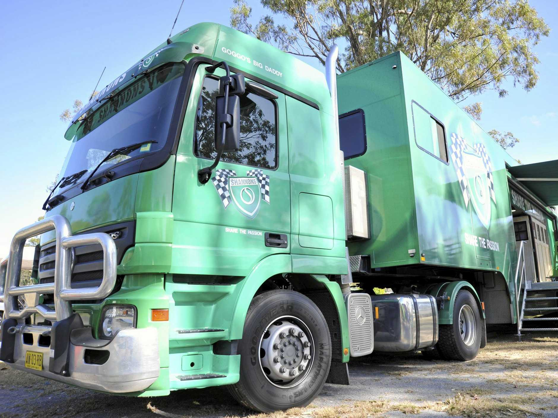 SUPER RIG: Shannons Super Rig is coming to Wondai.