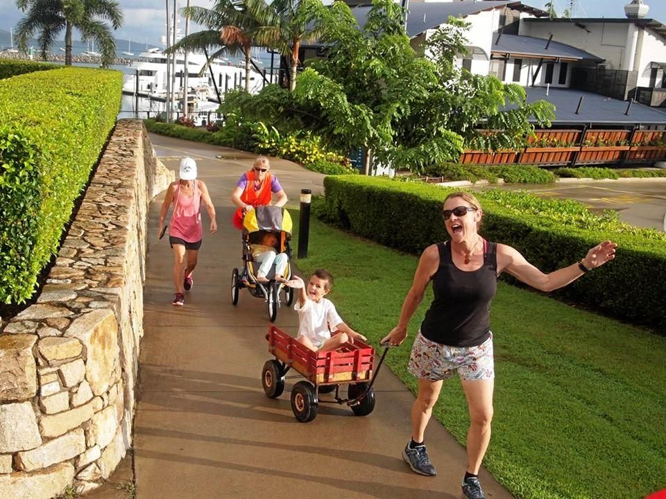 Plenty of smiles were floating around Airlie Beach parkrun on the weekend.