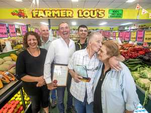 Good fruit and great service rewarded for our Farmer Lou