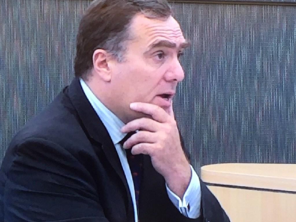 Kathleen Folbigg's lawyer Jeremy Morris SC.