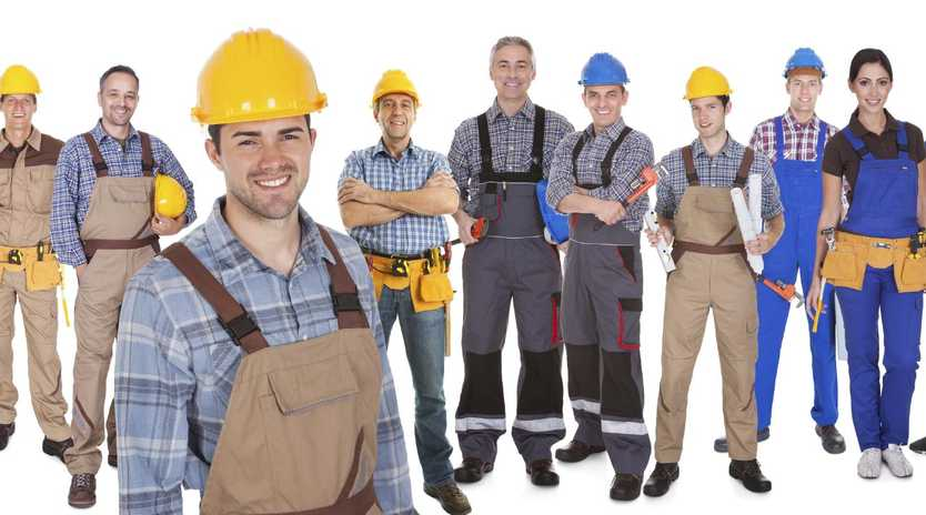 Experts say tradespeople are always going to be needed in Australia. Picture: iStock