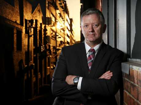 Former Detective Sergeant Peter Moroney, who has provided an insight into the workings of the Counter Terrorism Unit in his book, Terrorism in Australia. Picture: Tim Hunter.