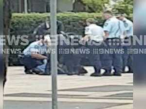 Armed man tasered by cops in Sydney