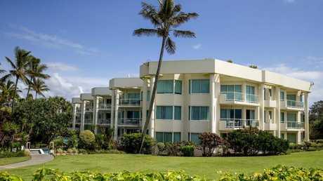 Pacific Mirage condominiums. Picture: Jerad Williams