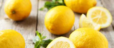 Roll lemons on your kitchen bench or heat them in the microwave to extract maximum juice.
