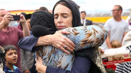 "NZ Prime Minister Jacinda Ardern says Mr Anning's comments are a ""disgrace"". Picture: Hagen Hopkins/Getty Images"