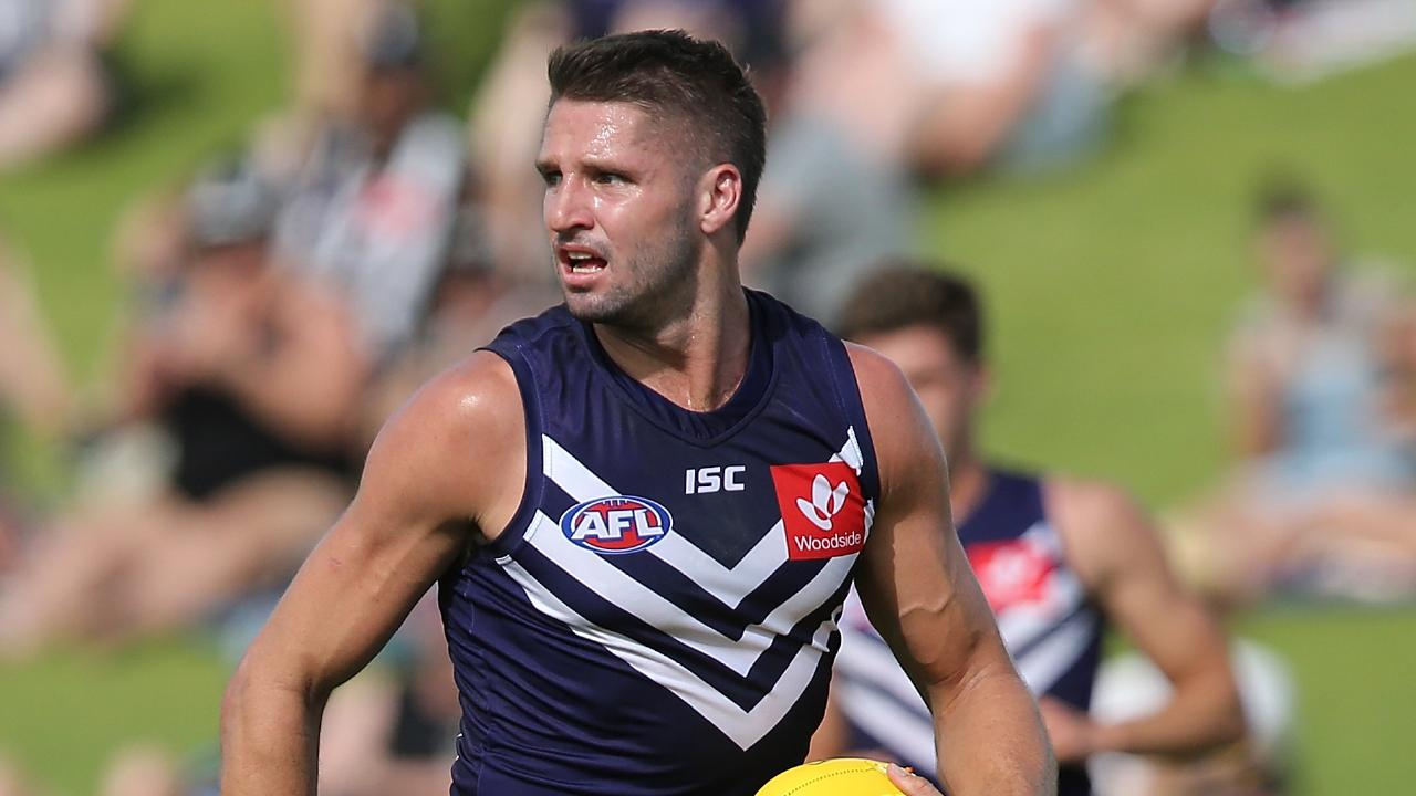 Jesse Hogan has been ruled out of Fremantle's Round 1 game against North Melbourne. Picture: Getty Images.
