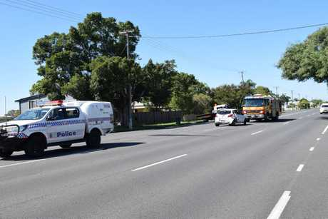 A two-car crash on Saltwater Creek Rd, near Waterson St, Maryborough happened on March 19 before 10am.