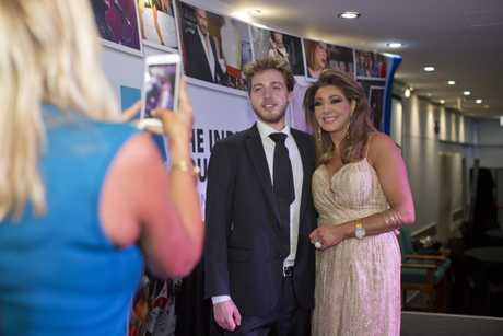 Indy Foundation guest speaker and The Real Housewives of Melbourne star, Gina Liano, was proud to have her son Myles by her side at the event on Friday night.