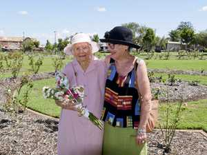 100-year-old Maryborough woman Lorna Sten with her
