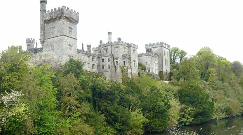 PALATIAL GLORY: There are many and varied castles to see, or perhaps stay in, in Ireland. Pictured here is Ireland Castle.