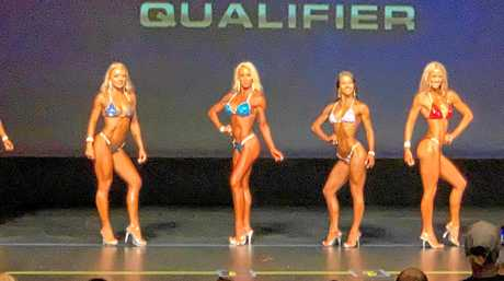 Bikini body builder McKenzie Wenmoth said the atmosphere among competitors was supportive.
