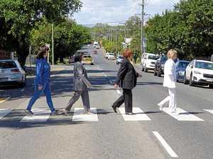 RMU Beatles mania