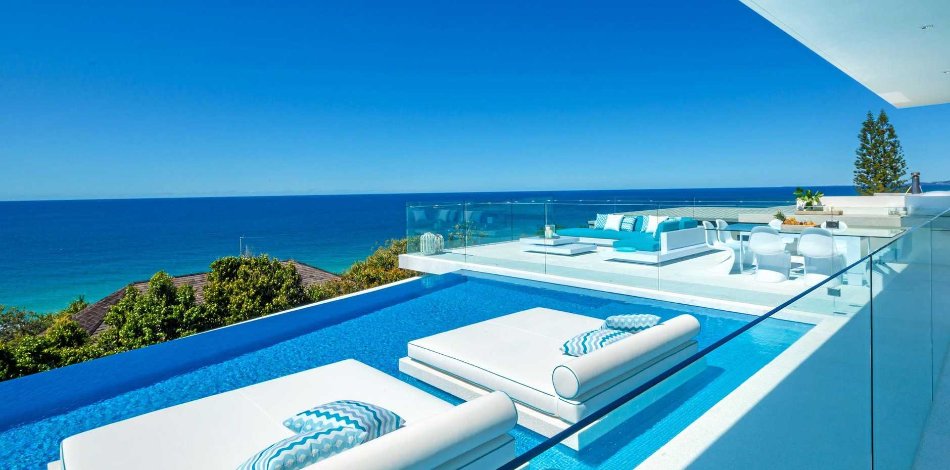 Azure at Sunshine Beach will set you back at least $5500 per night for its breathtaking views and award-winning design.