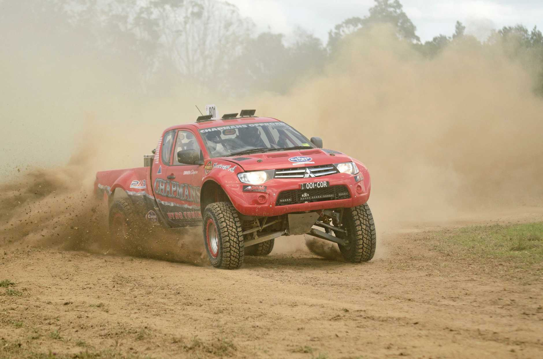 CONTENDER: Clayton Chapman (above) will be among the drivers taking to the track at Sexton this weekend for the opening round of the Queensland Offroad Racing Championships.