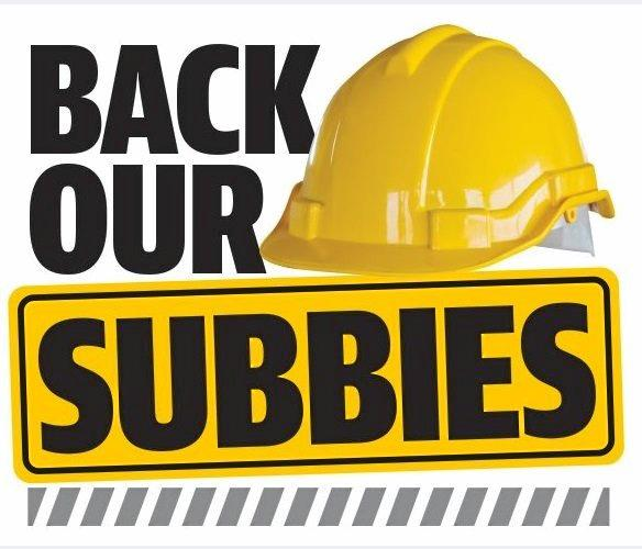 The News Ltd Back Our Subbies campaign has helped raise awareness about serious problems in the Queensland construction industry.