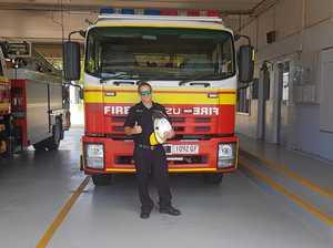 Meet the new firefighting boss at Bowen station