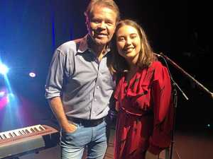 Troy Cassar-Daley brings daughter to Casino gig