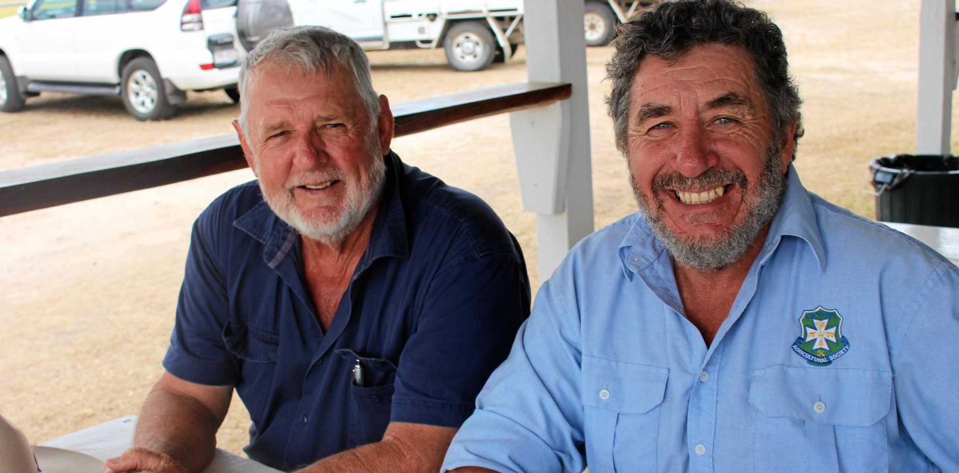 Tony Haig was hoping to buy while Glenn Crossman was looking to sell.