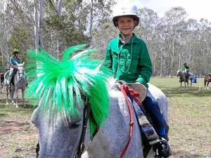 Riders enjoy the luck of the Irish in rally at pony club