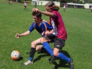 GALLERY: Gympie hosts Wide Bay Football trial