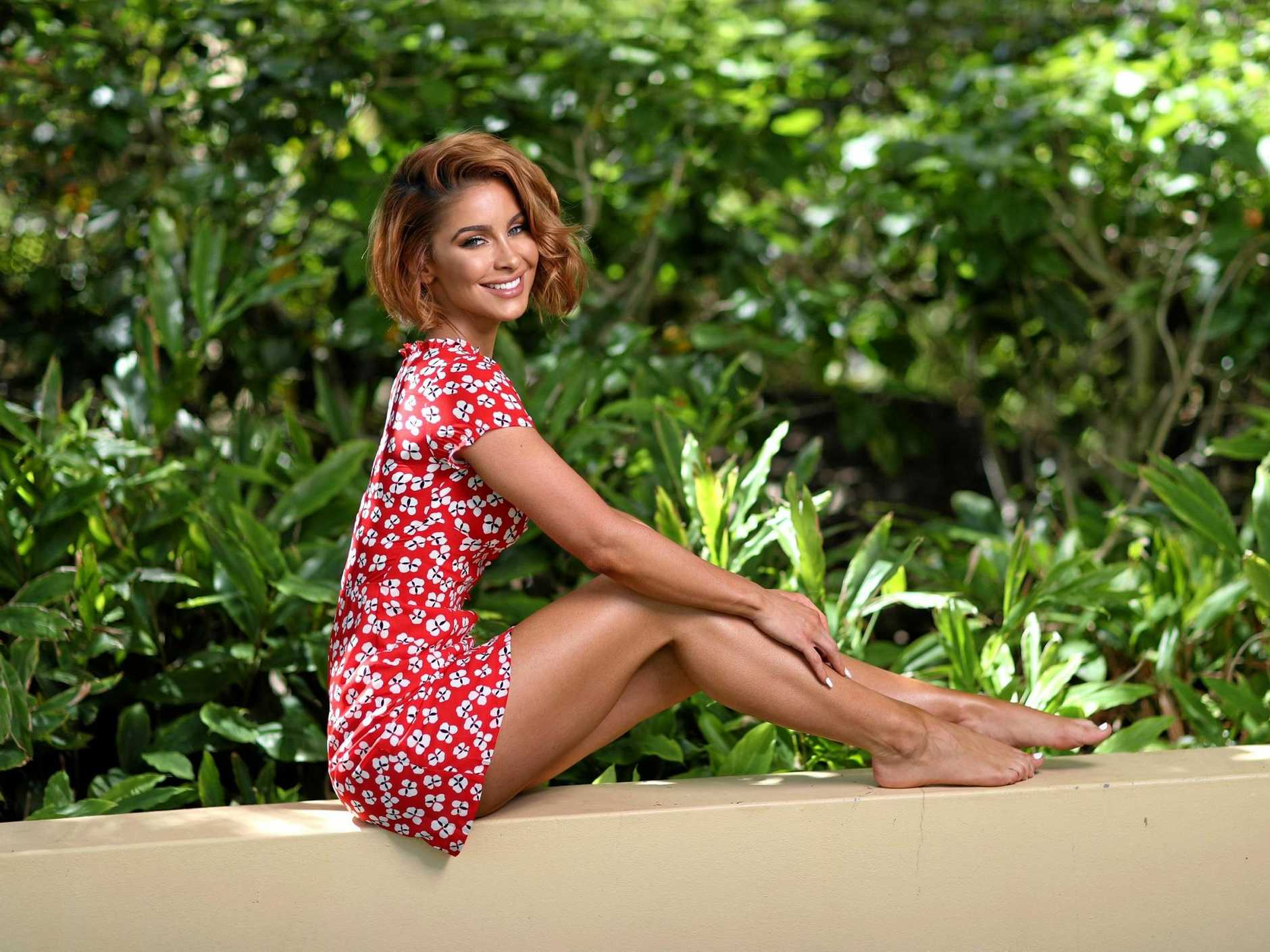Brisbane-based model and actor Ellie Gonsalves stars in the new movie Fighting With My Family.