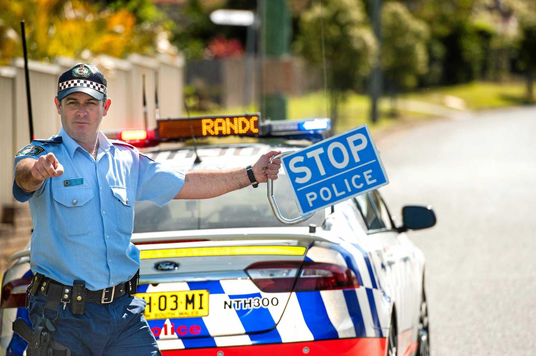 NSW police speed gun, radar.random breath testingSnr. Const  Mark Whittaker. 07 October 2016