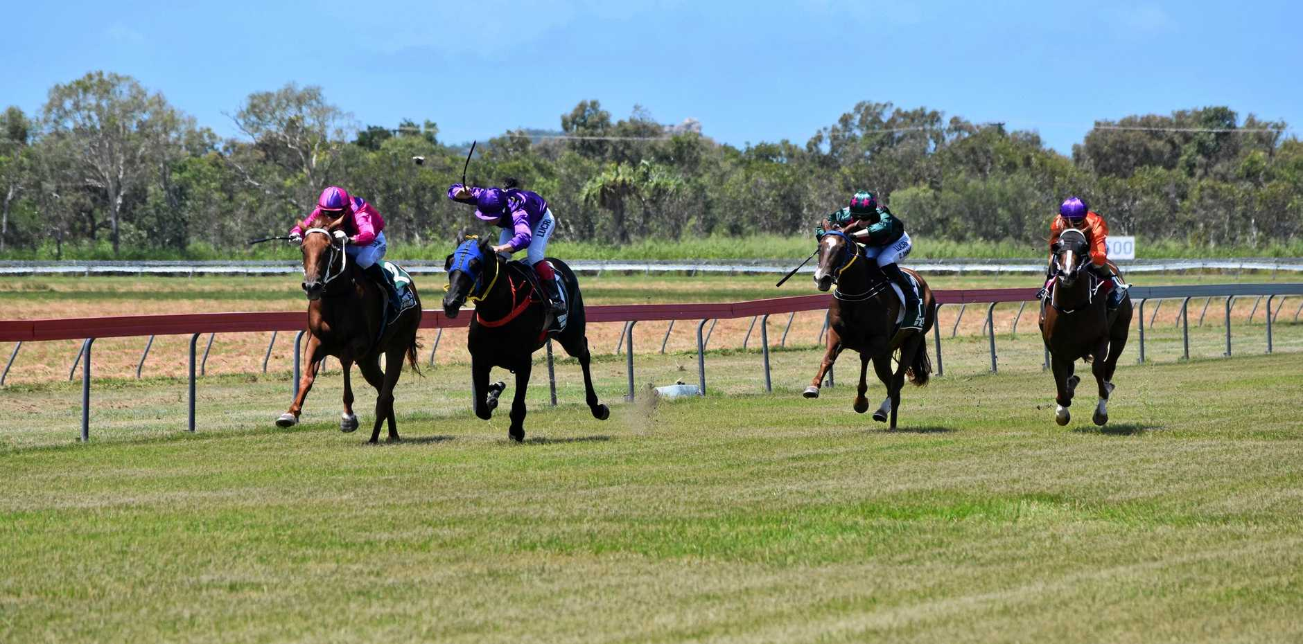 READY TO RACE: The Bowen Turf Club will hold its third TAB meeting in March on Friday at Ben Bolt Park.