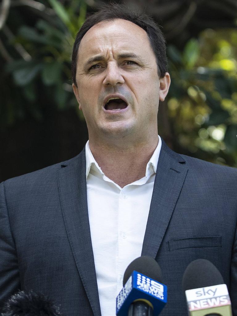 Former Greens turned independent MP Jeremy Buckingham.